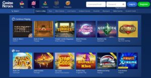 Casino Heroes new casino offers