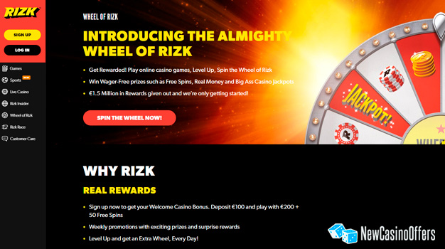 Wheel of Rizk is one of the specialties that you can't see elsewhere