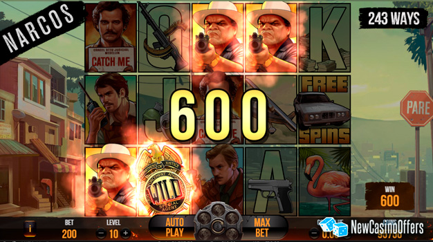 Narcos Video SLot by NetEnt