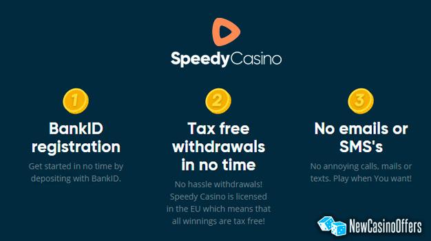 Speedy Casino Offer