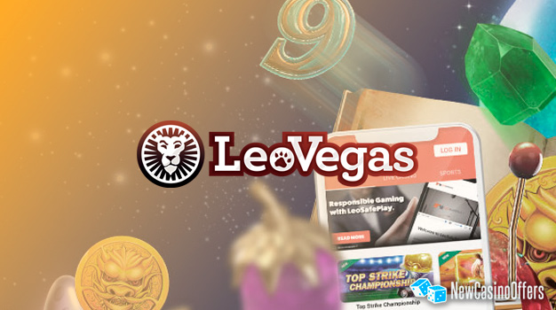 Leo Vegas is a full service gaming site that has something for everyone