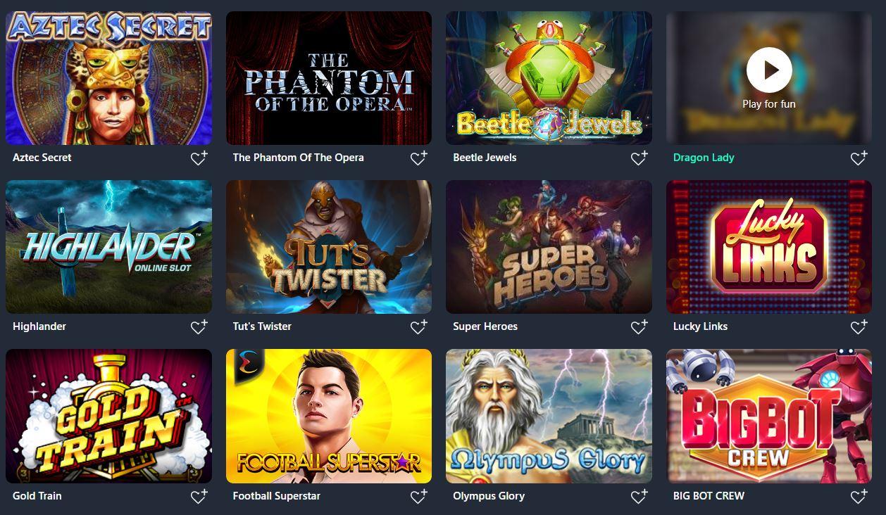 Buran Casino new customer offers